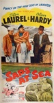 Saps at Sea Original US Three Sheet