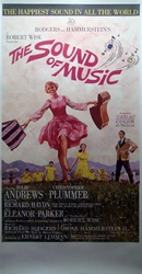 The Sound of Music Original US Three Sheet