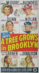 A Tree Grows in Brooklyn Original US Three Sheet