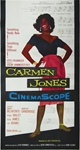 Carmen Jones Original US Three Sheet