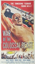 War Of The Colossal Beast US Three Sheet