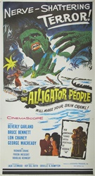 Alligator People US Three Sheet