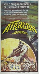 Atragon Original US Three Sheet