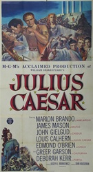 Julius Caesar Original US Three Sheet