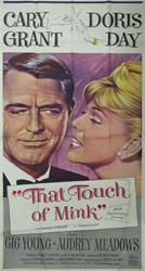 That Touch Of Mink Original US Three Sheet