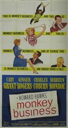 Monkey Business Original US Three Sheet