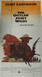 The Outlaw Of Josie Wales US Three Sheet