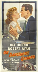 On Dangerous Ground US Three Sheet