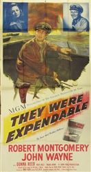 They Were Expendable US Three Sheet