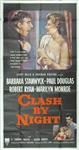 Clash By Night Original US Three Sheet