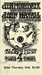 Jimi Hendrix Experience and John Mayall Original Tickets