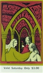 Big Brother And The Holding Company And Pink Floyd Original Tickets