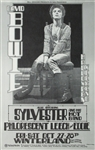 David Bowie And Sylvester Concert Poster