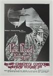 Pink Floyd Original Concert Poster at the Oakland Coliseum by Randy Tuten