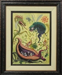 Joe Vaux Garden Fever Original Painting