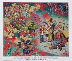 Robert Williams Hallucinating Reprobate Limited Edition Lithograph