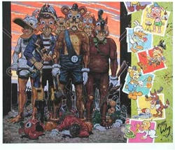 Robert Williams Hell Toons Limited Edition Lithograph