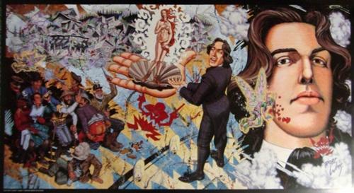 Williams Oscar Wilde Poster Lowbrow Arwork Kustom Kulture Pop ...