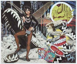 Robert Williams Tooth Fairy Limited Edition Lithograph