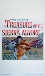 The Treasure Of The Sierra Madre US Window Card