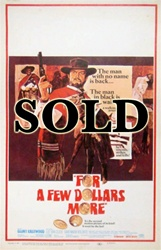 For A Few Dollars More US Window Card