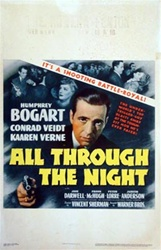 All Through the Night US Window Card