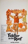 Fiddler on the Roof US Window Card