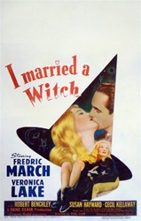 I Married a Witch US Window Card