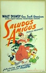 Saludos Amigos US Window Card
