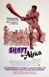 Shaft In Africa US Window Card
