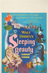 Sleeping Beauty US Window Card