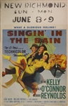 Singin In The Rain US Window Card