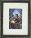 Bernie Wrightson Original Comic Book Cover Painting