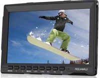 "FW759 7"" IPS HDMI On-Camera Monitor with Sunshade and HDMI Lock"