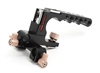 G-CTH Handle with 15mm LWS rod support for Canon C100/C300/C500 cameras