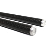 G-DCFR450 15mm Carbon Fiber Rods 450mm (pair)