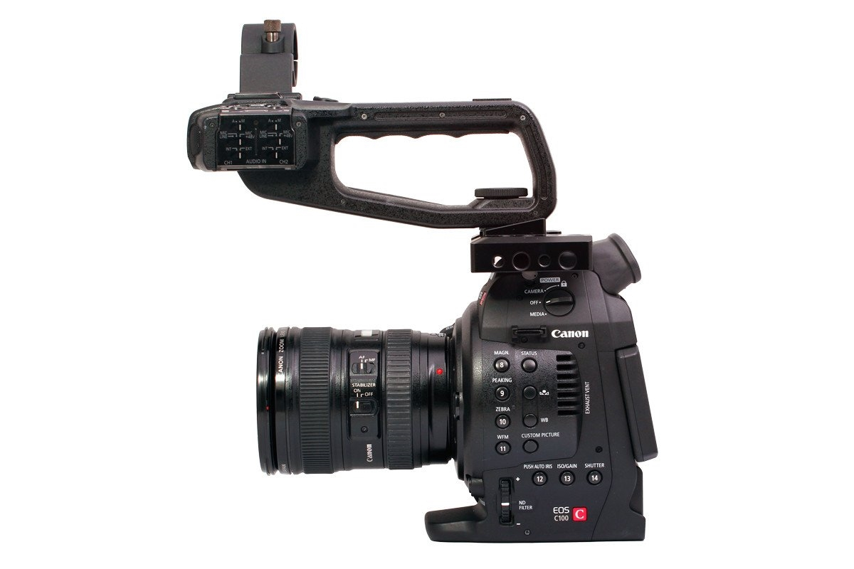 GCP-CCC Top Cheese Plate for the Canon C100, C100 Mark II