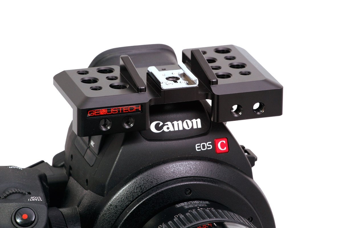 GCP-CCC Top Cheese Plate for the Canon C100, C100 Mark II, C300, C500 Camera
