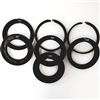 Genustech GEM-COAR-SPECIAL Set of 7 Elite Clamp on Rings - 80mm, 87mm, 95mm, 98mm, 100mm, 117mm & 121mm