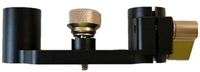 GEM-QRBSB : Genus Elite 15mm Lightweight Standard (60mm spacing) support bracket (All Sales final, no returns on this product)
