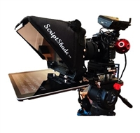 "GWMC Wide Angel 4x4 Matte Box with the ScriptShadeâ""¢ Assembly to turn into a Teleprompter"