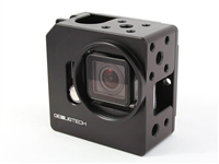 GP-CAGE-BK+EB : Genus Cage for GoPro Hero3 or Hero4 with LCD, Battery BacPac