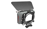 Genustech GWMC-KIT Matte Box Basic Kit:GWMC Matte Box w/ French Flag, Rod Bracket, GAR82 & G-SUR/82KIT