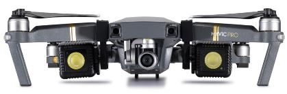 lighting DJI Mavic Pro Drone