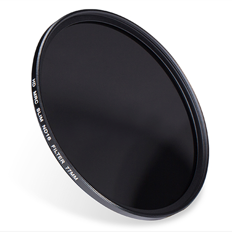 ND16-77 :  ND 1.2 ( ND16 ) 4 stop Neutral Density Filter 77mm