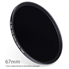 ND400-67 : ND400 Neutral Density Filter 67mm