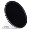 ND400-72 : ND400 Neutral Density Filter 72mm