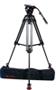 OZ-10CF2 : OZEN 100CF2 100mm Carbon Fiber Tripod & Agile 10 Fluid Head System (E-Z-Load)