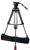 OZ-12CF2: OZEN 100CF2 100mm Carbon Fiber Tripod & Agile 12 Fluid Head System (E-Z-Load)