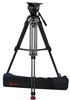 OZEN 100CF2HD 100mm Carbon Fiber Tripod & Agile 18 Fluid Head System (E-Z-Load)
